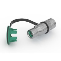 "WEH® Receptacle TN1 CNG for refueling of cars (ECE), with female thread G1/2"", filter 40 micron, 200 bar"