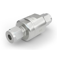 WEH® Check Valve TVR1 H₂ for installation in H2 vehicles and fuelling stations - Series