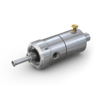 WEH® Connector TW117 for testing of gas cylinders, pneumatic actuation via valve head, max. 450 bar