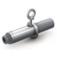 """WEH® Connector TW59 for filling of gas cylinders with propane and butane, grip sleeve actuation, max. 30 bar, W21,8 x 1/14"""" L/H (DIN 477)"""