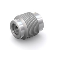"WEH® Screw-in Valve TVR2, NPT 1/4"" external thread, stainless steel 1.4305, FKM, DN 4 mm, 170 bar"
