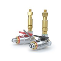 CLICKMATE® Connector TW154 for filling of Breathing Air (BA) twin cylinder packs - Series