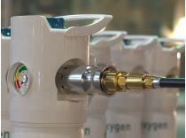 Safe oxygen filling in seconds